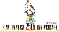 Final Fantasy 25th Logo