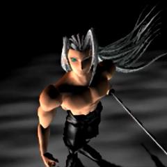Sephiroth in an FMV.
