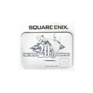 The <i>20th Anniversary</i> sticker. It appears on every <i>Final Fantasy</i> game released in 2007, regardless if they are in the project or not.