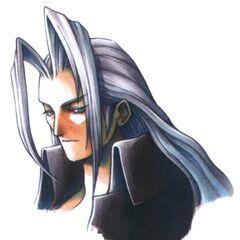 Sephiroth portrait.