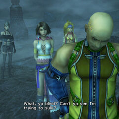 Cid in <i>Final Fantasy X-2</i>.