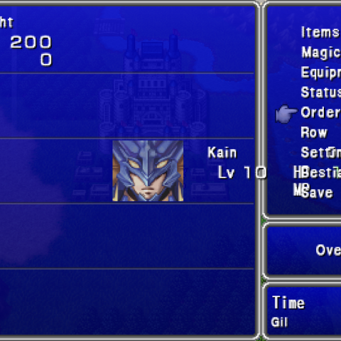 Order in the PSP version.
