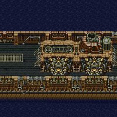 Magitek Armor Transport Ship (SNES).