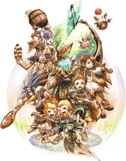 Final Fantasy Crystal Chronicles battle1.jpg