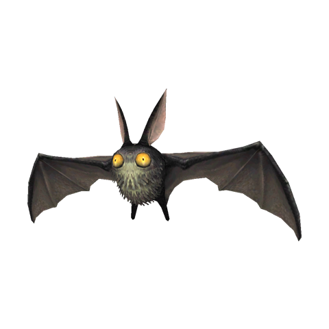 A giant bat.