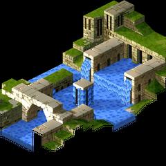Eagrose Castle's citadel, as shown in cutscenes.