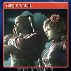 Yang & Ursula.