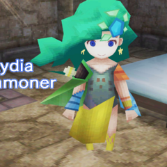 Rydia's introduction screen (PC).
