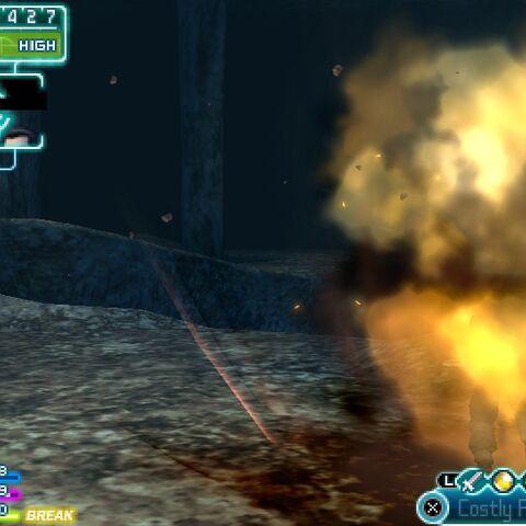 Shinra Mega Cannon.