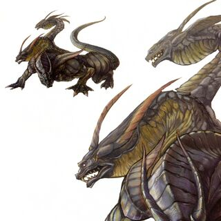 Promotional artwork of the Hydra from <i><a href=