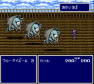 Final Fantasy IV JAP Battle
