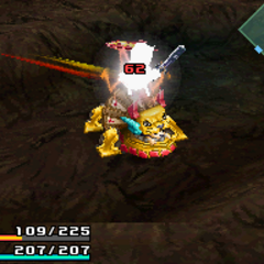 Attack used when player is standing on the enemy.