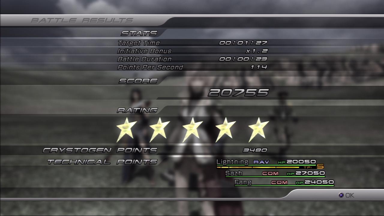 Fișier:Battle Results FFXIII.png