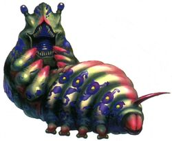 Caterchipillar FFVIII Color Art