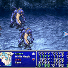 <i>Final Fantasy IV: The After Years</i> in <i>The Complete Collection</i> (PSP).