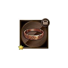 Bronze Bangle in <i><a href=