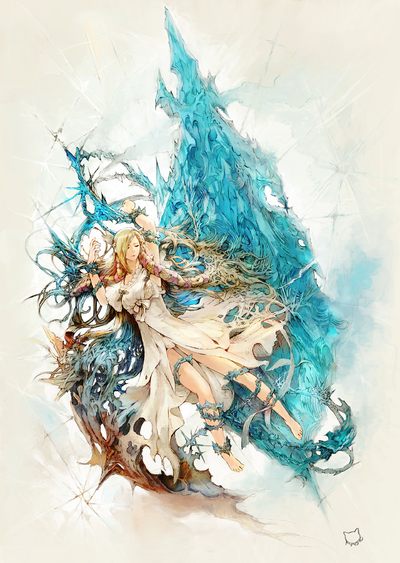 FFXIV The Gears of Change Artwork