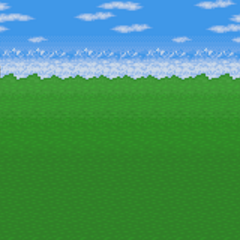 Battle background (Outside) (SNES).