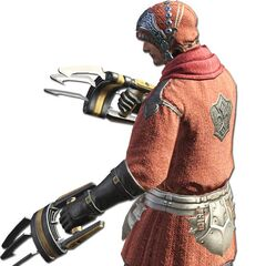 Pugilist render for the original <i>Final Fantasy XIV</i>.