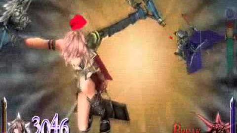 Dissidia 012 Final Fantasy - Lightning's EX Burst