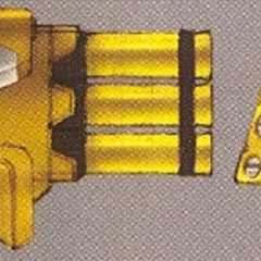 Concept art of the Rocket Launcher in EX Mode.