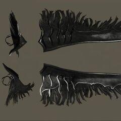 Renders of Ardyn's winglike accessory.