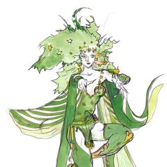 Artwork of adult Rydia by <a href=