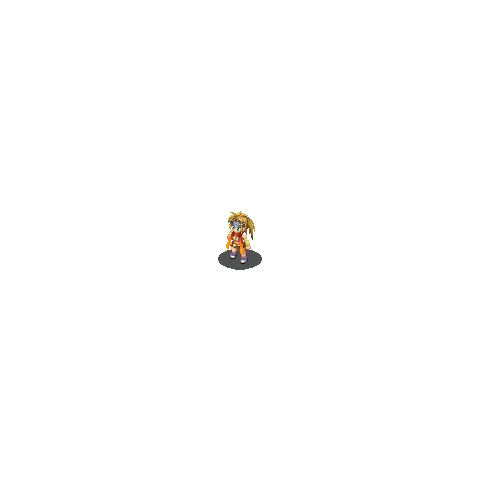 Rikku's sprite.