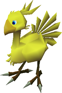 File:FFVII Chocobo in Battle.png