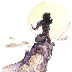 Yoshitaka Amano artwork.