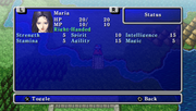 Maria's stats