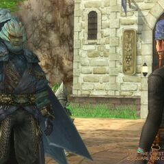 Jegran talking with Keiss.
