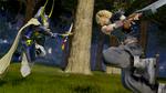 Dissidia Final Fantasy Warrior of Light VS Cloud
