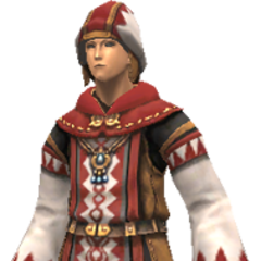 Cleric's Briault set<br />(WHM)