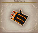 Toxic claws