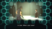 Zack chat up