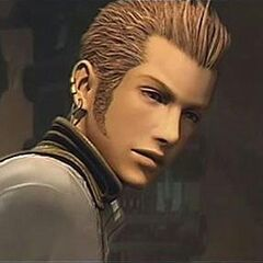 Balthier during an FMV.