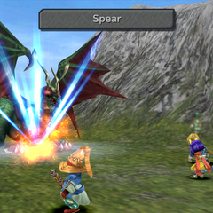 Freya throwing her spear in <i><a href=