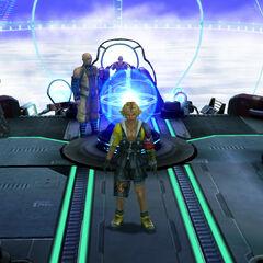 Bridge of the <i>Fahrenheit</i> in <i>Final Fantasy X</i>.