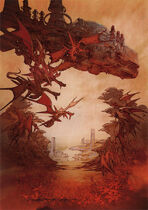 Flying ifrit