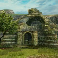 Ruins in Tchita Uplands.