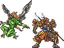 FFRK Gilgamesh & Enkidu FFV