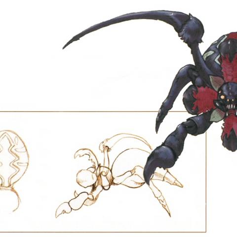 Artwork from <i>The Art of Final Fantasy IX</i> book.
