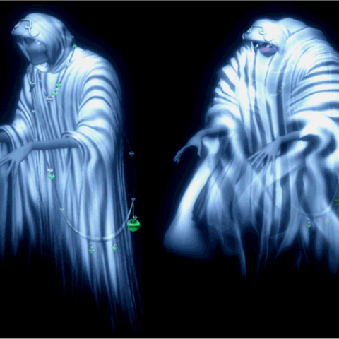 CG render of the Ghost from <i>Final Fantasy Anthology</i>.