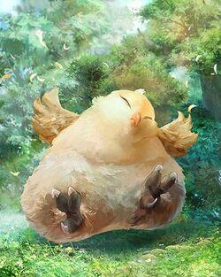 Mevius Final Fantasy Fat Chocobo