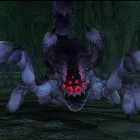 Shaula, one of three identical bosses in version 1.0.