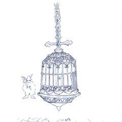Alexandria Castle Prison Cage.