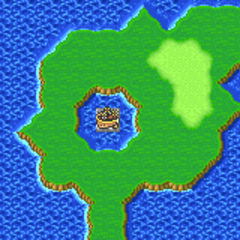 The Catapult on the Merged World (GBA).