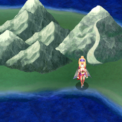 Mount Hobs on the overworld - east side (DS).