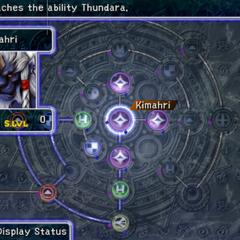 Kimahri's Sphere Grid (PS2).